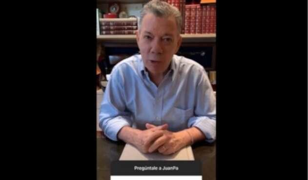 El consejo que Juan Manuel Santos le daría a Álvaro Uribe