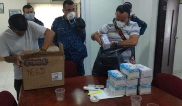 El Inpec entregó tapabocas en la cárcel de Villavicencio