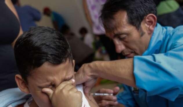 Vacuna de niños
