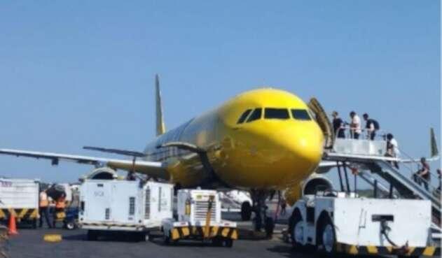 Este es el segundo vuelo que sale de la ciudad con turistas norteamericanos en el marco de la emergencia sanitaria.