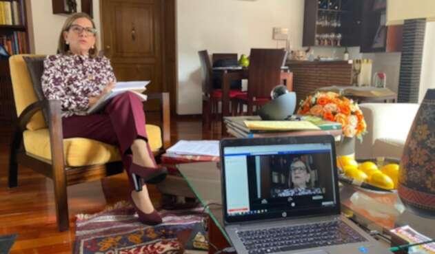 La ministra de Justicia, Margarita Cabello Blanco anunció que saldrán 4.000 internos de las cárceles del país