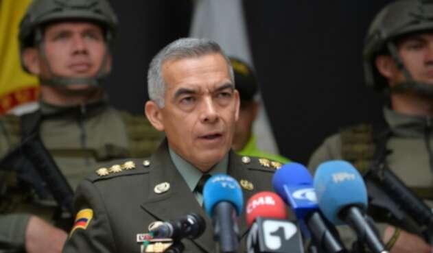 General Óscar Atehortúa, director de la Policía Nacional.