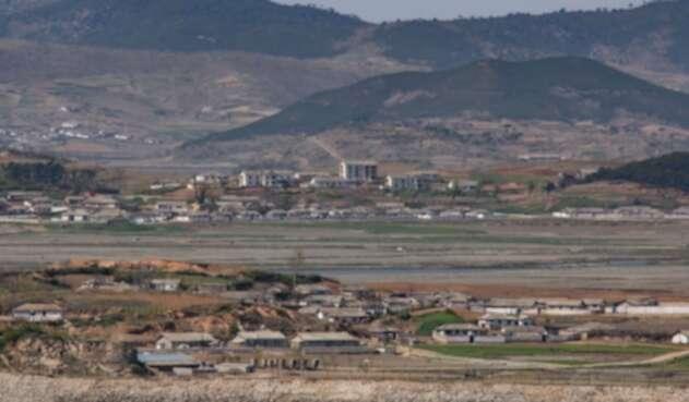 Frontera Corea de Sur y Corea del Norte