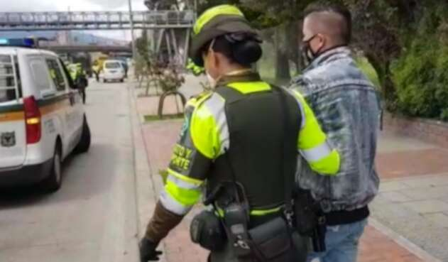 Detenido por violar cuarentena en Bogotá y portar documentos falsos