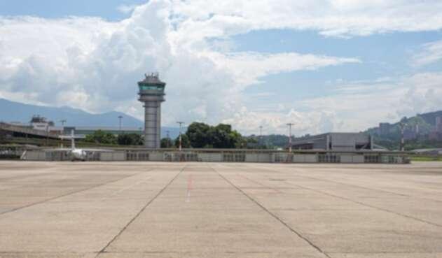 El Aeropuerto Olaya Herrera de Medellín