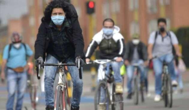 Usuarios de bicicleta