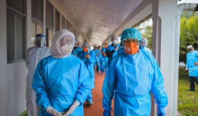 Fernando Ruíz, ministro de Salud en su visita al Amazonas