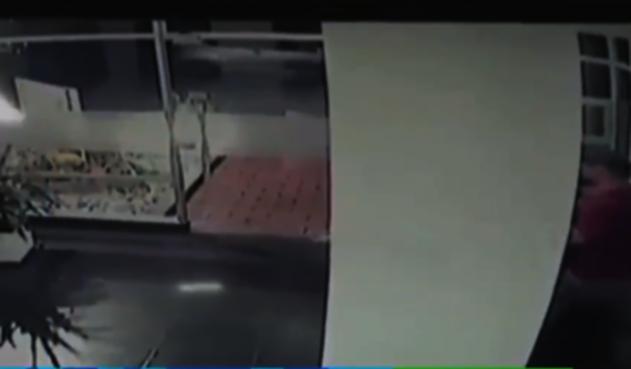 Ataque a celador en Bogotá
