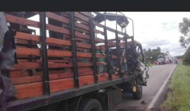 Ataque a camión militar en el Bajo Cauca de Antioqiia