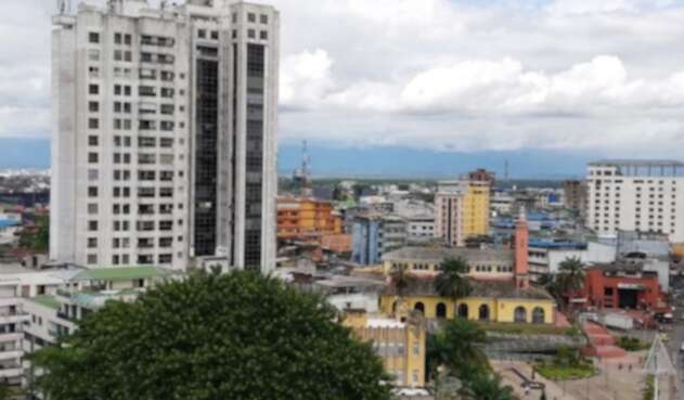 Panorámica de Buenaventura (Valle del Cauca)