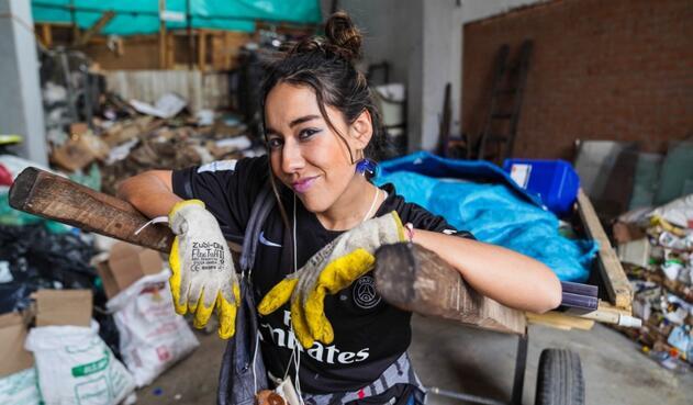 Campaña para ayudar recicladores en Bosa