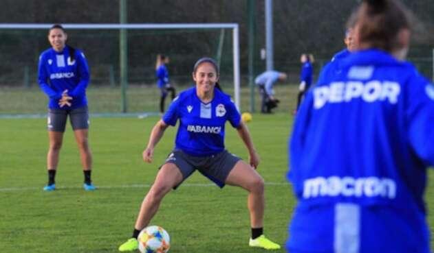 Carolina Arbeláez, jugadora del R.C. Deportivo de La Coruña