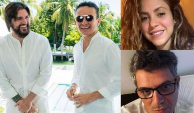 Juanes, Fonseca, Shakira, Alejandro Sanz