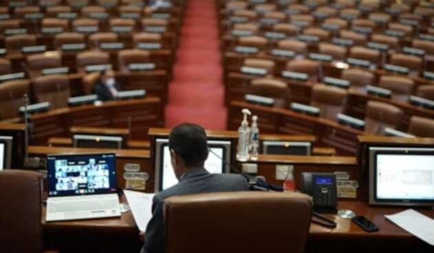 Congreso de la República en Cuarentena / Cuarentena en Bogotá