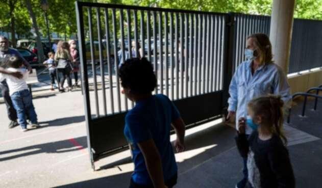 Coronavirus en Francia / Regreso de niños a los colegios