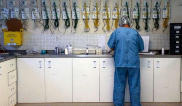 Coronavirus en Brasil / médicos que atienden a contagiados