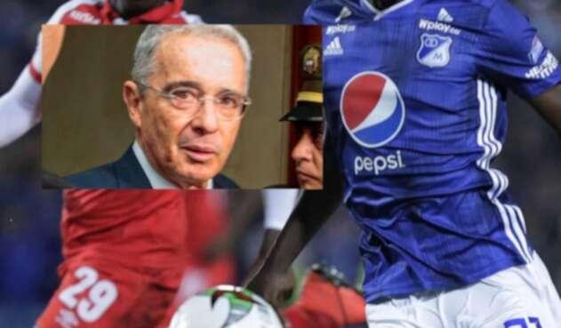 Uribe y el fútbol colombiano