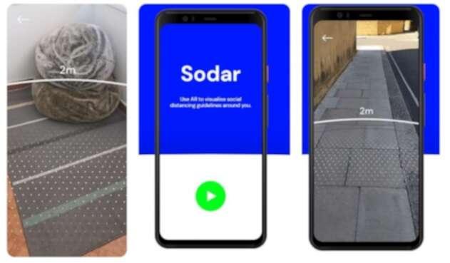 Sodar, app para garantizar la distancia segura