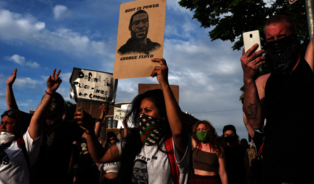 Protestas por muerte de afroamericano a manos de policía en EE.UU.