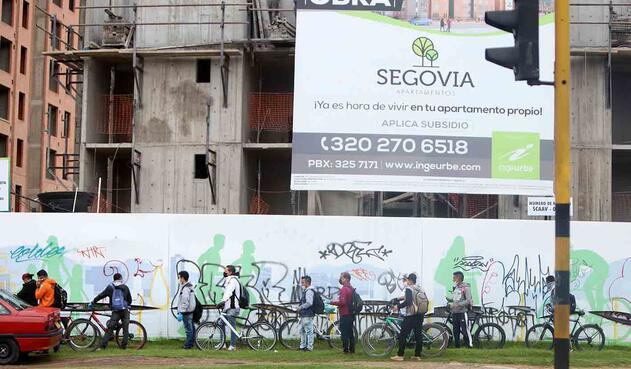Construcciones de Bogotá toman más medidas de seguridad