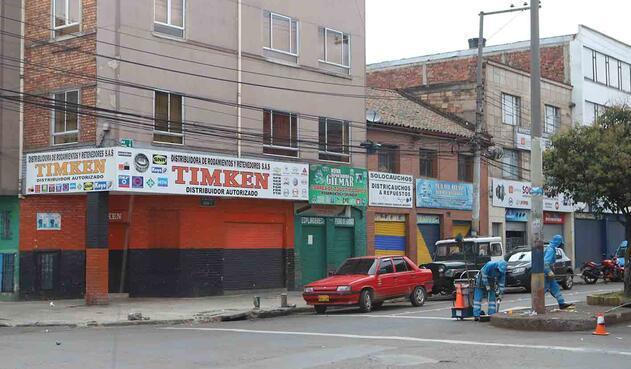 Reactivación económica automotriz / Cuarentena en Bogotá  / Coronavirus en Colombia