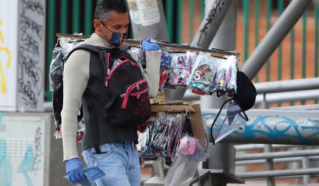 Vendedores ambulantes - Cuarentena en Colombia