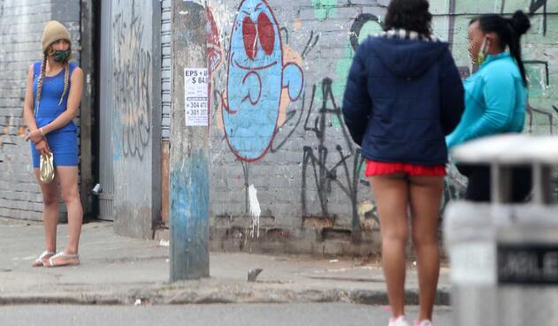 Trabajadoras sexuales violan cuarentena en Bogotá / coronavirus en Colombia