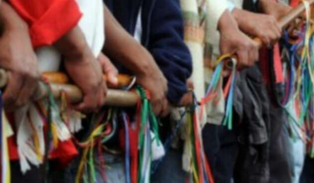Comunidades indígenas en Colombia
