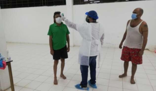 Coronavirus en cárcel