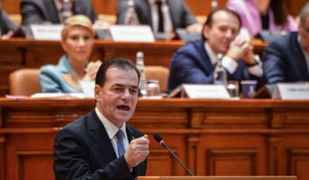 Ludovic Orban, primer ministro de Rumanía