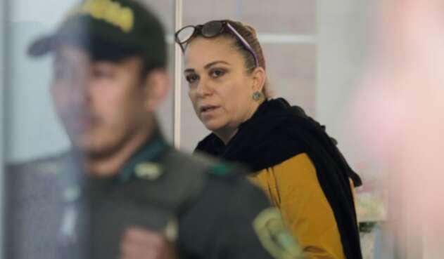 María Claudia Daza, exasesora del senador Álvaro Uribe