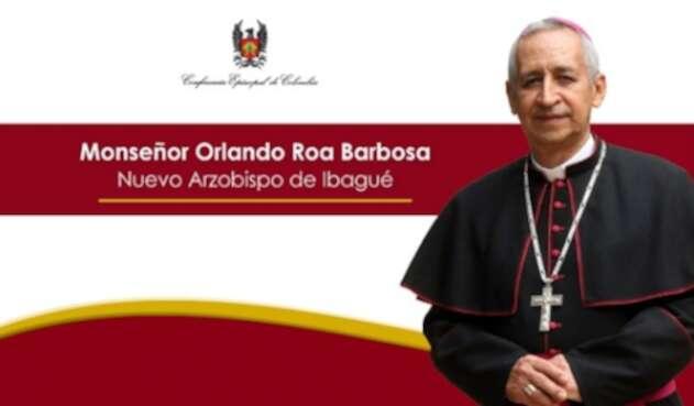 Nombramiento monseñor Orlando Roa Barbosa