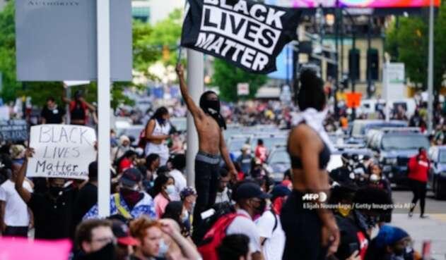 Protestas en Atlanta por la muerte de George Floyd