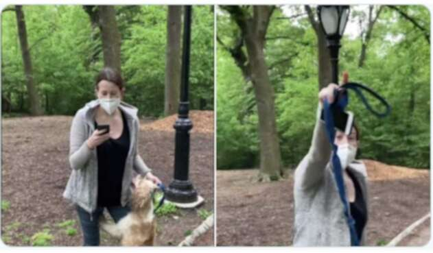Racismo en Central Park de NY