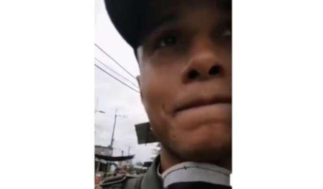 Patrullero de la Policía conmueve las redes