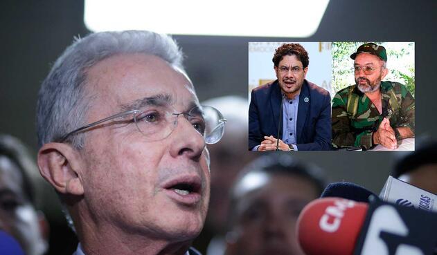 Álvaro Uribe acusa a Iván Cepeda de Farcpolítica por computadores de Raúl Reyes