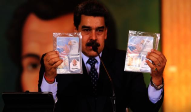 Nicolás Maduro operación de mercenarios