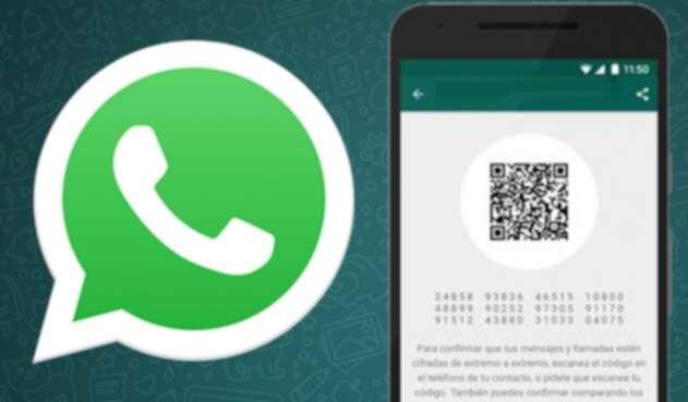WhatsApp, código QR