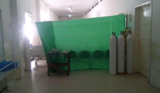 Estado del hospital San Rafael de Leticia (Amazonas)