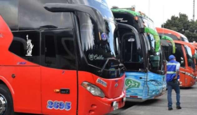 Buses para transporte intermunicipal