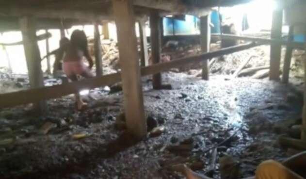 Temor de las comunidades en Alto Baudó, Chocó.