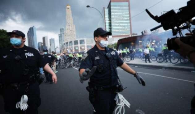 Protestas en Nueva York
