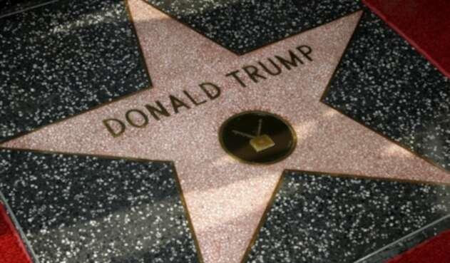 Estrella de Donald Trump