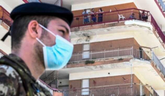 Coronavirus en Italia / Disturbios por foco de contagio
