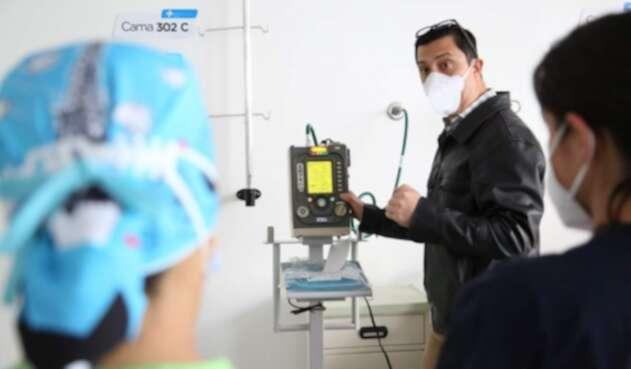 Nuevos ventiladores mecánicos en hospitales de Bogotá