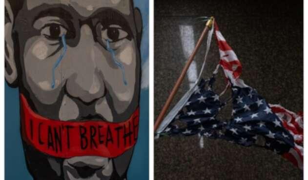Muerte de George Floyd desencadenó en violentas protestas en Estados Unidos