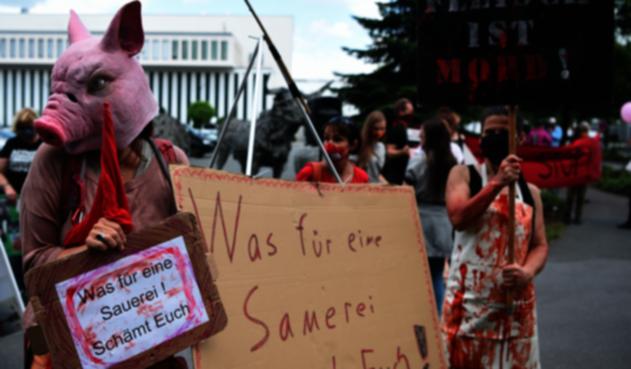 Matadero en Alemania