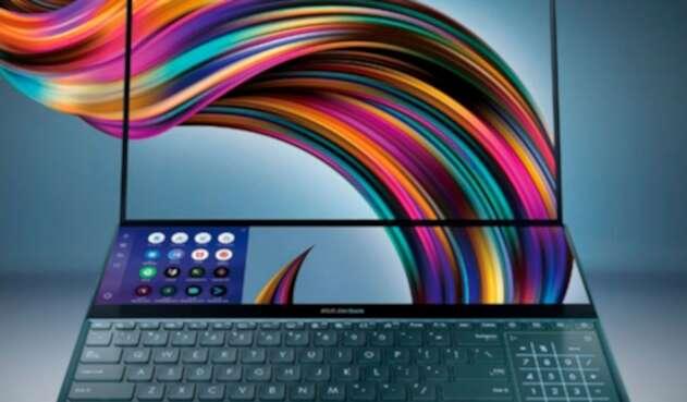 Asus Zenbook Pro Duo, portátil con doble pantalla