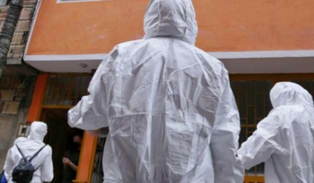Coronavirus en Bogotá / Coronavirus en Colombia / Entrega de mercados