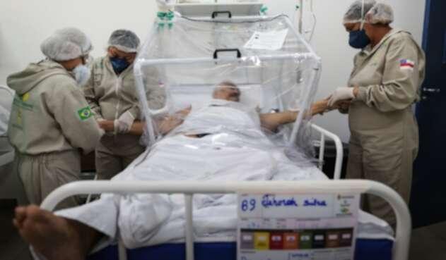 Coronavirus en Brasil / pacientes contagiados